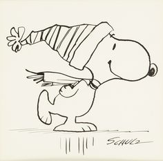 To go with the Sunday jazz, one of Charles Schulz's original sketches. Snoopy Coloring Pages, Christmas Coloring Pages, Adult Coloring Pages, Snoopy Love, Charlie Brown And Snoopy, Snoopy And Woodstock, Peanuts Cartoon, Peanuts Snoopy, Snoopy Christmas
