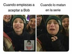 Memes de Stranger Things - - Hit Tutorial and Ideas Stranger Things Funny, Stranger Things Netflix, It Icons, Saints Memes, Song Playlist, Spanish Memes, Stupid Funny Memes, Pretty Little Liars, Best Shows Ever