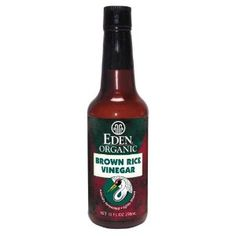 Eden Foods Organic Brown Rice Vinegar @CleanThrive program