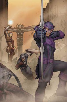 #Avengers #Fan #Art. (AVENGERS: SOLO #1 (Of 5) Cover) By: JOHN TYLER CHRISTOPHER.  (THE * 5 * STÅR * ÅWARD * OF: * AW YEAH, IT'S MAJOR ÅWESOMENESS!!!™)[THANK U 4 PINNING!!!<·><]<©>ÅÅÅ+(OB4E)         https://s-media-cache-ak0.pinimg.com/474x/7f/f8/c2/7ff8c2657bd0f9dd3322bf6fed300475.jpg