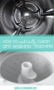 How to Naturally Clean Any Washing Machine via Clean Mama
