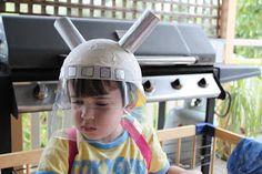 Space Helmet | Little Cricket