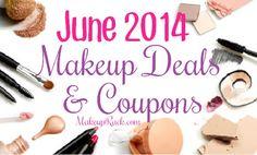 June 2014 Makeup & Beauty Coupons
