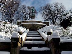 Eugenstaffel Stuttgart und Galatea im Winter