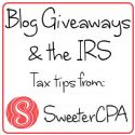The Tax Implications of Winning a Blog Contest