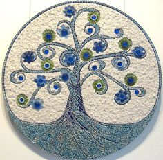 TREE OF LIFE mosaic art by Mosaickid on Etsy,