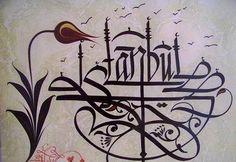 İstanbul, scrittura turca