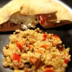 Mediterranean Couscous-Veggie Style