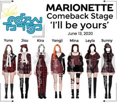 Marionette-official on ShopLook | The easiest way to find the perfect outfit Fashion Idol, Korean Girl Fashion, Kpop Fashion Outfits, Stage Outfits, Girl Outfits, Preppy Fall, Cute Swag Outfits, Kpop Girl Groups, Polyvore Outfits