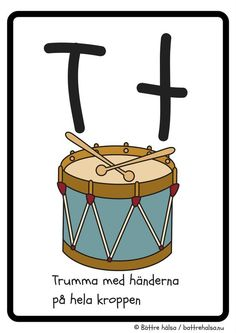 aktiviteter för barn, barnaktiviteter, pyssla och lek, knep och knåp, lära sig alfabetet, lära sig bokstaven T, röra på sig, lekar, rörelselekar