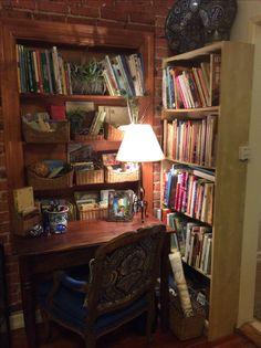Wohnideen Arbeitszimmer Home Office Büro - Ein Vintage-Stil Büro zu ...
