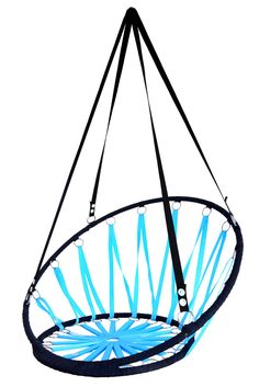 Houpací síť modrá Hanging Chair, Wood, Handmade, Furniture, Home Decor, Madeira, Homemade Home Decor, Hammock Chair, Hand Made