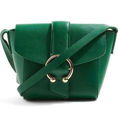 emerald green mini crossbody