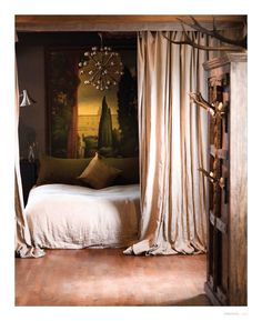 medieval loft bedroom - amsterdam - george gotti oliver michell