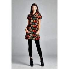 2015 Winter and Fall Short Sleve Owl Sweater Dress. Fall Sweater Dress Great fabric and a must-have, short sleve knit sweater, come insizes small to large