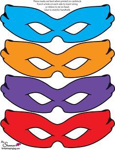 Ninja Turtles Mask