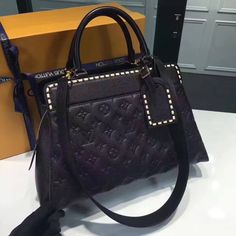 Louis Vuitton Vosges MM Bag M41491 Black 2017