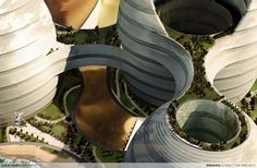 Duly Noded: Futuristic Masterplans for Sustainable Cities in the Middle East - Architizer