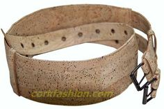 Cork Belt (model RC-GL0104002001) - Eco-friendly - made of real cork. From www.corkfashion.com