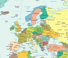 map of europe - Google Search