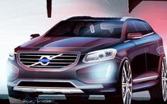 2016 Volvo XC60 Design Sketch