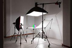Mesa de productos para fotografia