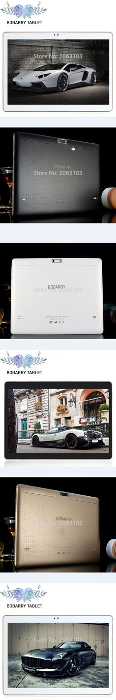 BOBARRY Tablets Android 5.1 Octa Core 64GB ROM Dual Camera and Dual SIM Tablet PC Support OTG WIFI GPS 4G LTE bluetooth phone