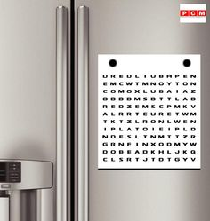 What's the first word you can find in our PCM Inc word search? - @PCMNowOakville