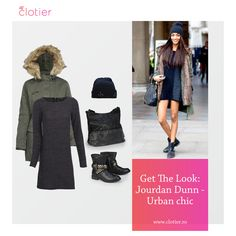 Jourdan Dunn, Urban Chic, Get The Look, Campaign, Content, Medium, Board, Blog, Image