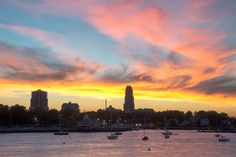 New Rochelle at dusk. New Rochelle, My Town, Dusk, New York Skyline, Travel, Trips, Traveling, Tourism, Outdoor Travel