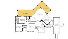 Majestic European Home - floor plan - Floor House Plans Mansion, Big Living Rooms, European House, In Law Suite, Walk In Pantry, Walk In Shower, Home Theater, Second Floor, My Dream Home
