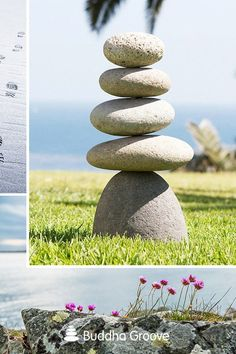 Assembled from large rocks, this cairn turns your outdoor space into a veritable sculpture garden. Rock Sculpture, Sculpture Garden, Zen Home Decor, Local Hardware Store, Cairns, Natural Materials, Stability, Im Not Perfect, Safety