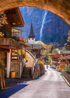 Lauterbrunnen, Switzerland.  Photo by @christofs70