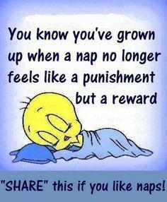 I need a nap right now.