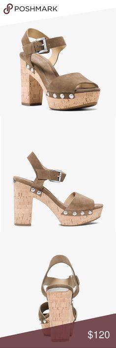Michael Kors Hayden Suede Platform Sandal Michael Kors Hayden Suede Platform Sandal MICHAEL Michael Kors Shoes Heels