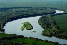 Danube Delta Romania Black Sea aerial Delta Dunarii 03