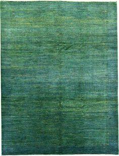 7' 10 x 10' 3 Green Kashkuli Gabbeh Persian Rugs. Love!