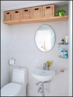 78 Brilliant Small Bathroom Storage Organization Ideas – Home Decor Cheats Budget Bathroom Remodel, Bathroom Renovations, Shower Remodel, Tub Remodel, Small Bathroom Organization, Simple Bathroom, Bathroom Ideas, Master Bathroom, Small Bathroom Redo