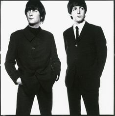 Lennon and McCartney by DAVID BAILEY (1965)