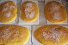 Tortas de calabaza (6) A Food, Food And Drink, Pan Dulce, Foods With Gluten, Sin Gluten, Bakery, Cooking Recipes, Ice Cream, Yummy Food