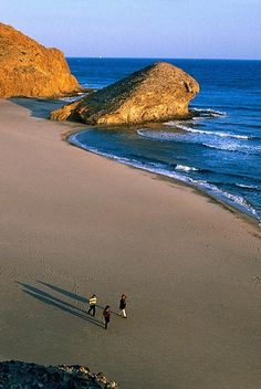 A walk on the beach in Spain..