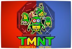 Vamers - SUATMM - Teenage Minion Ninja Turtles - Red and Blue