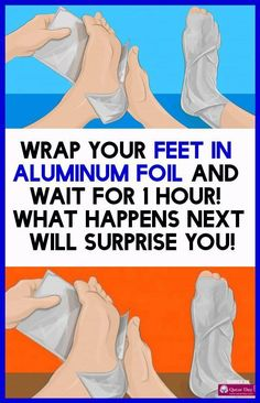 Wrap Your Feet In Aluminum Foil and Wait For 1 Hour! What Happens Next Will Surprise You! Garlic Health, How To Grow Eyelashes, Leg Cramps, You Are Awesome, Natural Cures, Natural Health, Natural Skin, Yoga, Healthy Tips