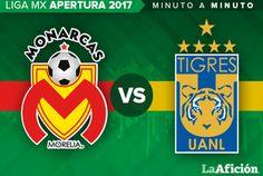 Morelia vs. Tigres Liga MX (3-3) GOLES - Milenio.com