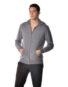"""This is a pure cashmere hoodie for men. Luxurious soft and really warm our sweaters are made from the finest grade of cashmere. These sweaters are made from """"A-Grade"""" 4 ply pure cashmere yarn and offer unsurpassed warmth and softness. Cashmere Hoodie, Cashmere Yarn, Unisex, Trends, Hoodies, Hoodie Sweatshirts, Mens Fashion, Style Fashion, Men Sweater"""