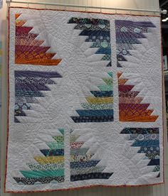 Kate Spain's upcoming fabric line, Cuzco, in Moda's free jelly roll pattern