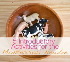Modern Parents Messy Kids: Make Like a Montessori Mama: Part 3 - Animal Activities