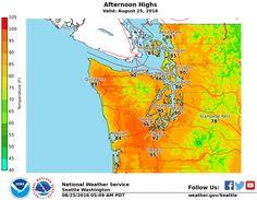 Record-breaking temperatures heat up Western Washington