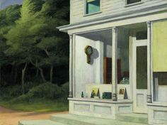 Edward Hopper, Le sette del mattino (1948)