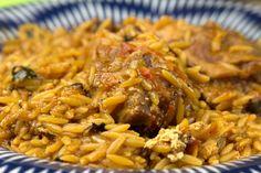 Όλα τα μυστικά για να μελώσει σωστά το κριθαράκι σας στο φούρνο σε συνταγή με κατσικάκι κοκκινιστό Greek Dishes, Main Dishes, Pasta Recipes, Cooking Recipes, Greek Cooking, Cooking Time, Everyday Food, Greek Recipes, Tasty Dishes